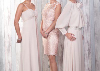 Zacht roze jurken