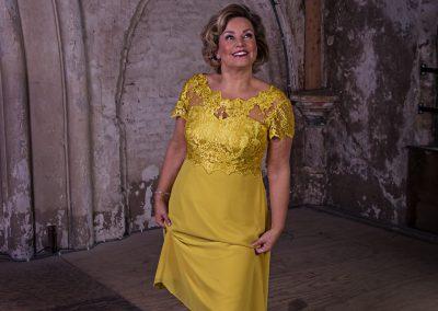 Gele jurk 1754