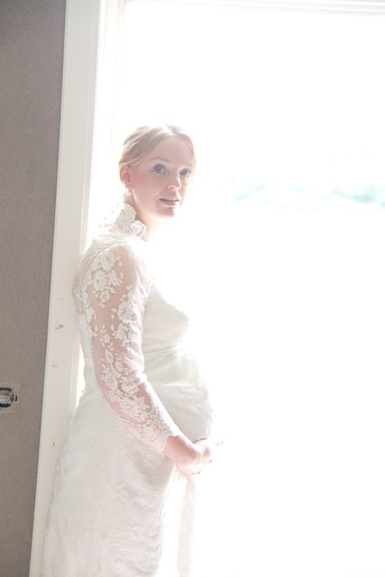 Zwangere bruid Enschede