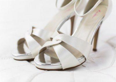 Bruidsschoenen Cate Ivory PLS 8