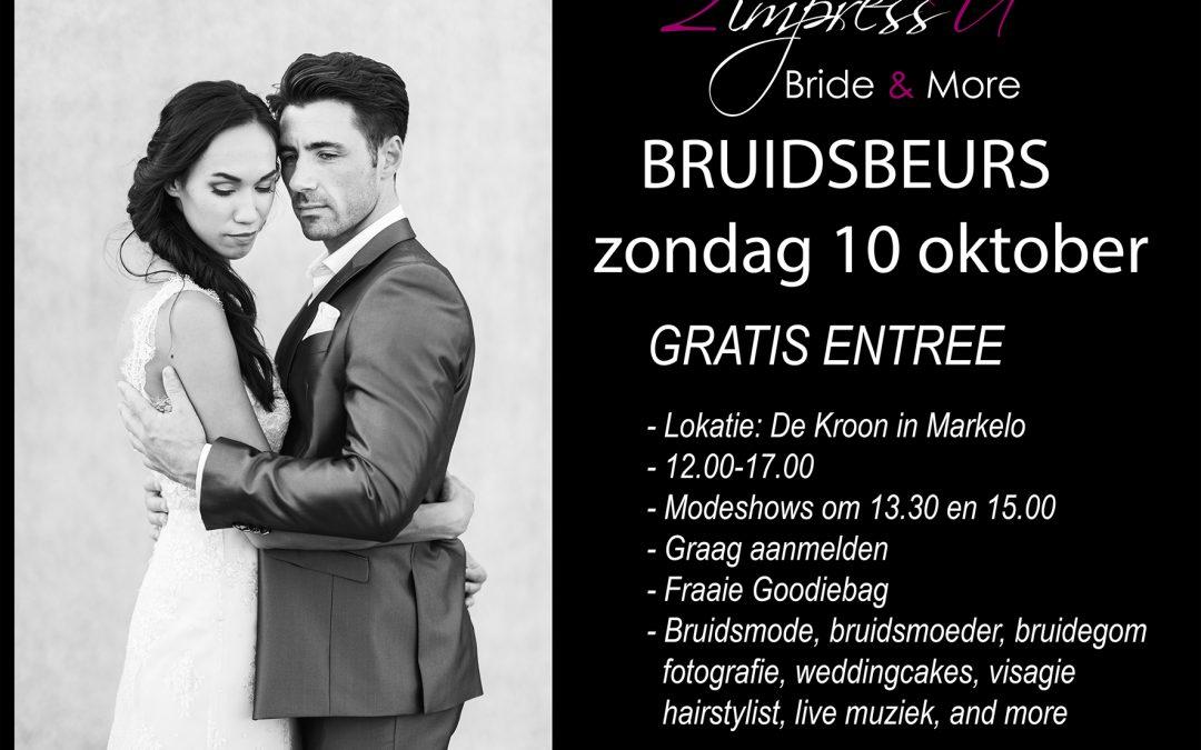 Bruidsbeurs Zondag 10 oktober